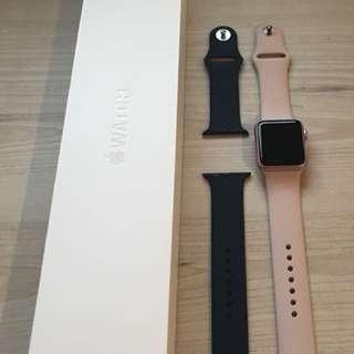Apple Watch Series 1 Rose Gold 38mm + Warranty