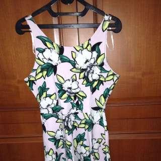 hnm dress bunga