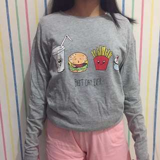 sweatshirt H&M uk M