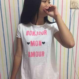 T-shirt zara uk M