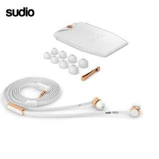 Sudio VASA White and Rose Gold Plating In-ear earphones