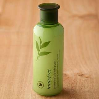 Inisfree Green Tea Balancing Skin Toner 200ml #LagiBest70