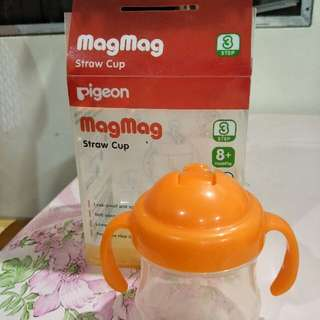 pigeon straw cup
