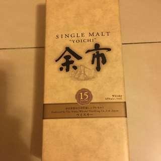 Yoichi 15 Single Malt 余市15年單一純麥