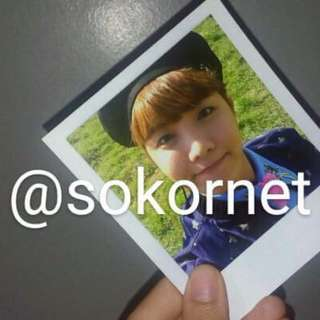 JHOPE official polaroid from YOUNG FOREVER ALBUM