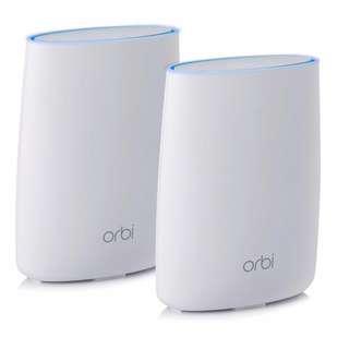 [IN-STOCK] NETGEAR Orbi Home WiFi System: AC3000 Tri Band Home Network with Router & Satellite Extender for up to 5,000sqft of WiFi coverage (RBK50) Works with Amazon Alexa