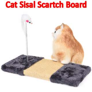 #1212YES TPE035 Spring Sisal Velvet Cat Scratch Board Cat Claw Grinding V2