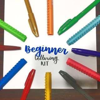 Brush Lettering Beginner Kit