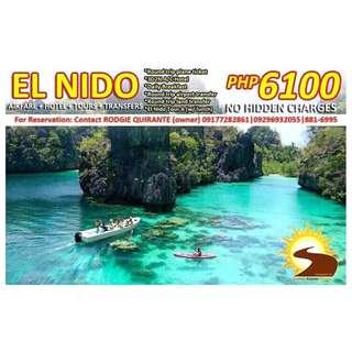 PALAWAN EL NIDO TOUR PACKAGE WITH AIRFARE PROMO