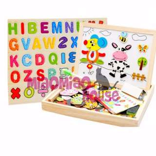 Wooden Magnetic Puzzles