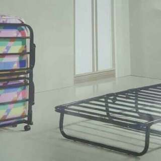 Brand new Single foldable bed frame with Wheels