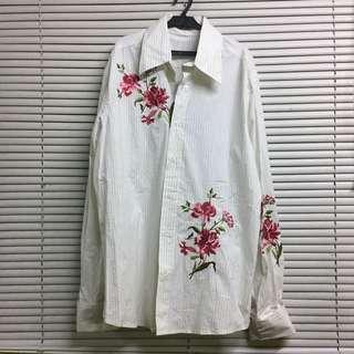 Nara Camicie Embroidered Shirt