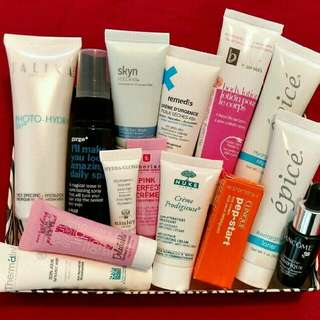 Skincare products LOT