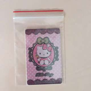 Limited Edition Hello Kitty EZ-Link card for $11.90.