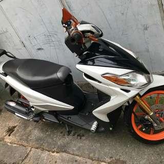 Yamaha Mio Mx125 carb type 2012.