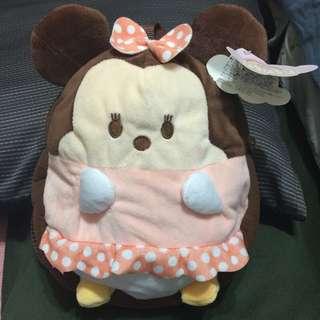 迪士尼 Q版 米妮寶寶 可調式後背包