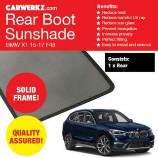 eb9b2b165a9 Quality BMW X1 15-17 F48 Rear Tailgate Sunshade