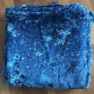Natibaby Nebula Blue Size 6 4.6m Woven Wrap