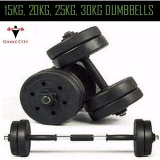 Dumbbells <BRAND NEW. FREE DELIVERY + LIFETIME WARRANTY>
