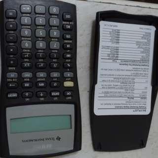 德州儀器 財務計算機 BA II PLUS