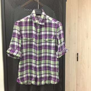 日本Comme Ca Du Mode的副牌buona giornata七分袖襯衫
