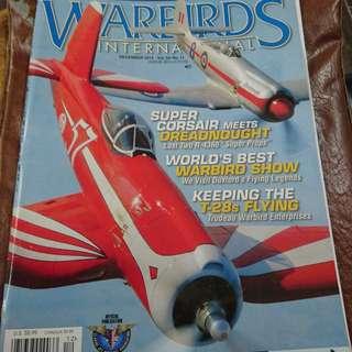 Warbirds international magazine