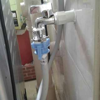HANDYBRO SERVICES PROJECT INSTALLATIONS TO SUPPLY COLD WATER PIPING FOR AUTOMATIC WASHING MACHINE(PLUMBER,PLUMBING,TOILET CHOKE,WASHING MACHINE)