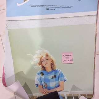 [CRAZY DEAL] TAEYEON WHY OFFICIAL POSTER