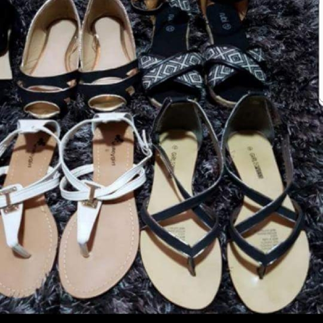 4 x Pairs of Size 6 Flats