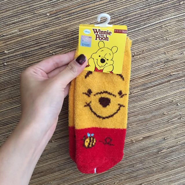 🇹🇼台灣製造毛巾襪🇹🇼小熊維尼兒