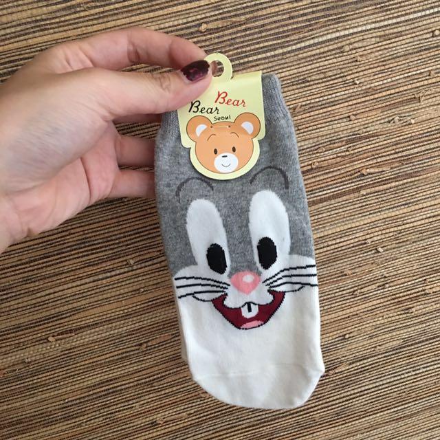 🇰🇷韓國短襪🇰🇷兩齒兔仔🐰