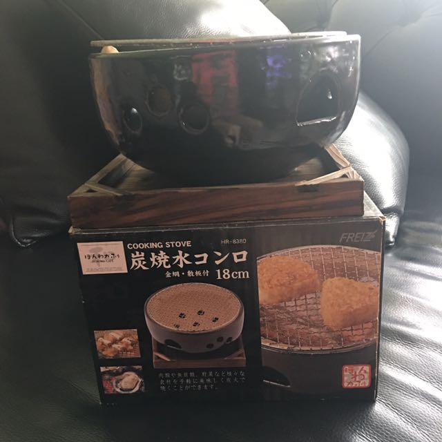 炭烤爐(陶器製)