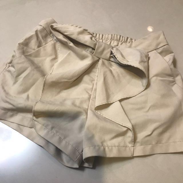 氣質蝴蝶結造型短褲