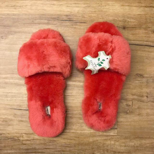 毛毛 拖鞋
