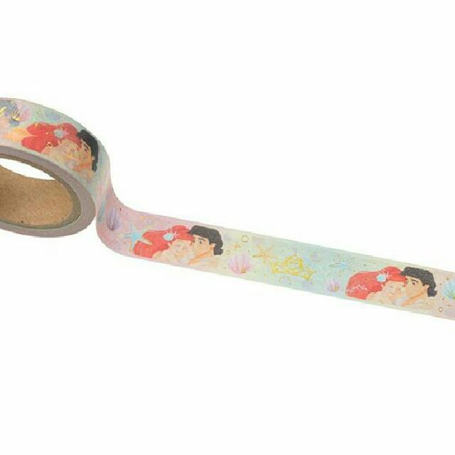 (分裝)日本迪士尼 小美人魚 紙膠帶