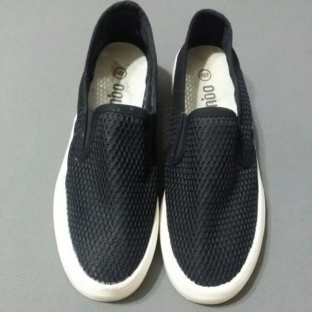 💗 黑色懶人鞋 休閒鞋 布鞋