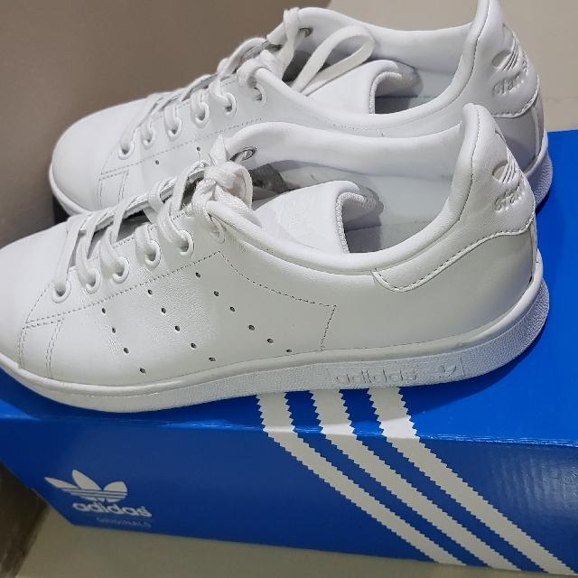 adidas stan smith triple white