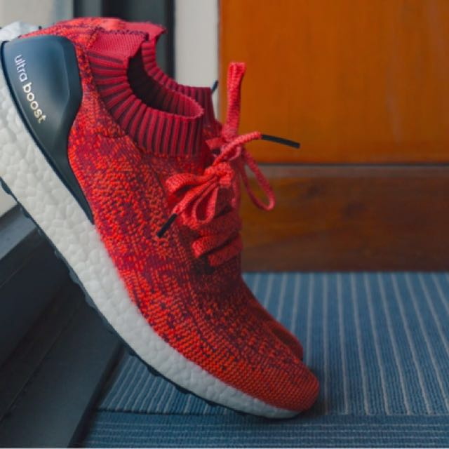 22f23a32fddf5 Adidas Ultraboost Uncaged Solar Red not Nike Jordan NMD Reebok ...