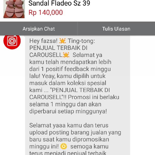 Alhamdulillah ..thanks Carousell