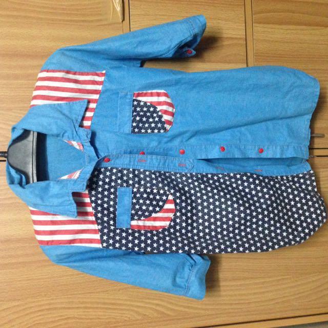 American Flag longsleeve