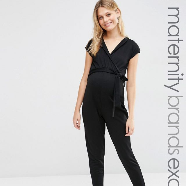 aac88134b7eb3 ASOS Bluebelle Maternity Relaxed Jumpsuit UK12, Babies & Kids ...