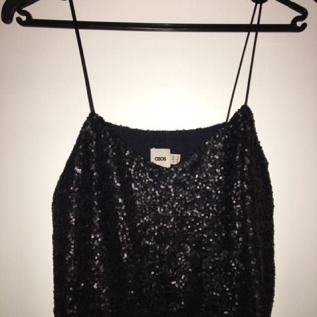 Asos sparkley top