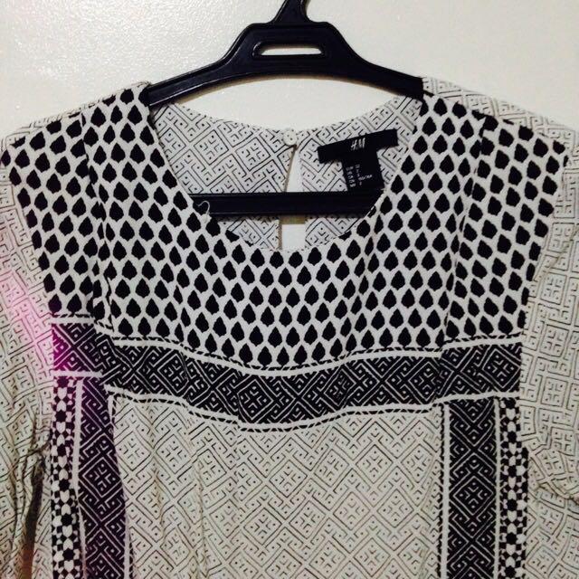Astec long blouse