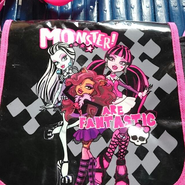 auth Monster High kids bag