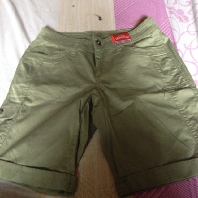 Authentic cargo bermuda by faded glory