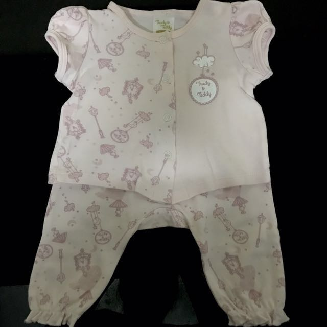 Authentic Trudy Teddy Sleep Suits