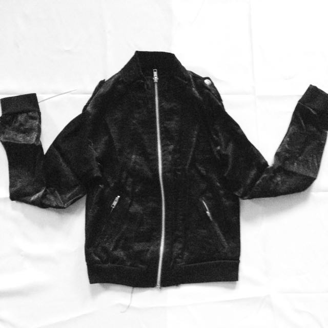Black Mesh Jacket