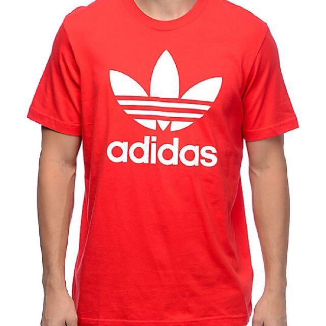BN Adidas Tshirt (Red - Plus Size)