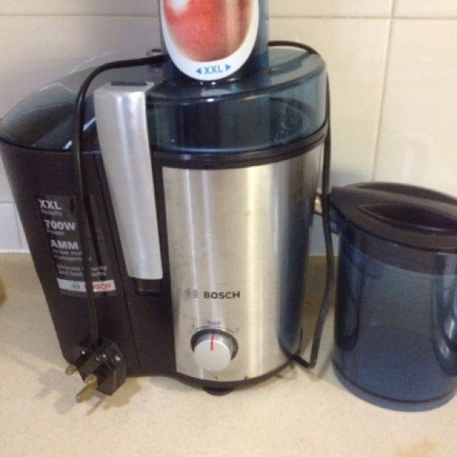 Bosch whole fruit juicer