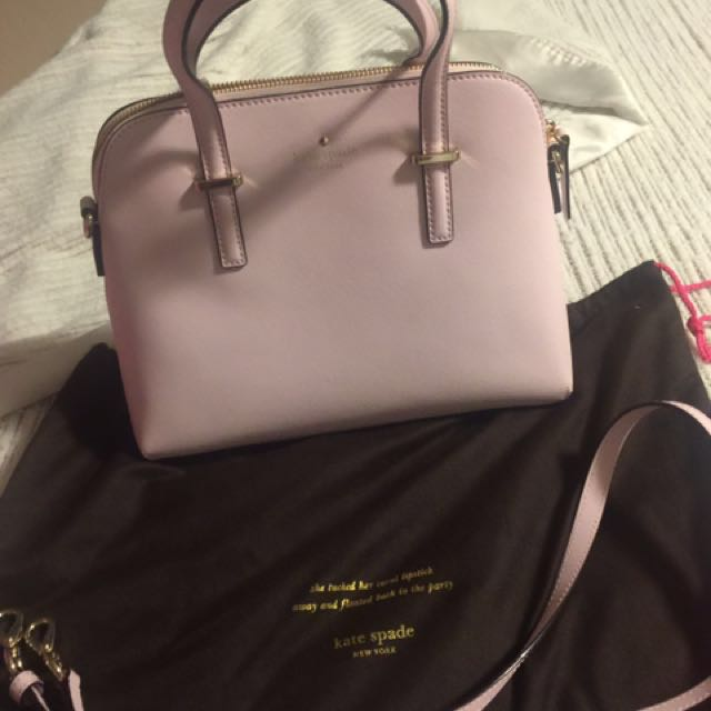 Brand new authentic baby pink Kate spade purse